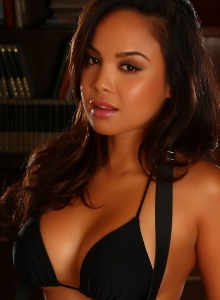 Dawn Jaro Teases In A Black String Bikini With A Tight Little Dress - Picture 5