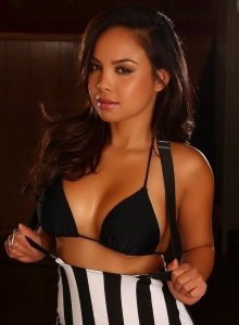 Dawn Jaro Teases In A Black String Bikini With A Tight Little Dress - Picture 8