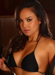 Dawn Jaro Teases In A Black String Bikini With A Tight Little Dress - Picture 9